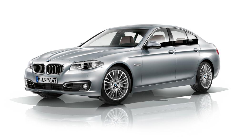 Erste Bilder: So sieht der neue 5er BMW aus