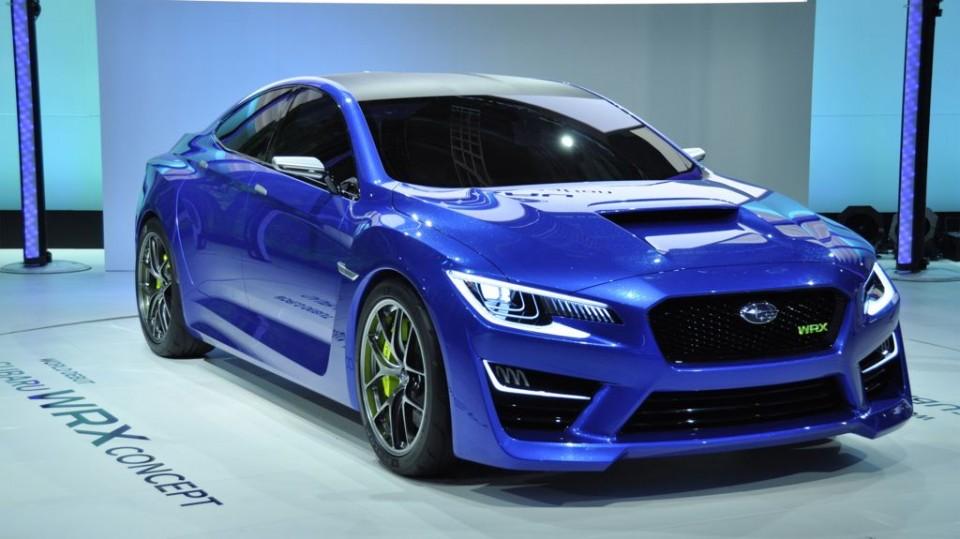 IAA 2013: Subaru zeigt die Studie WRX Concept