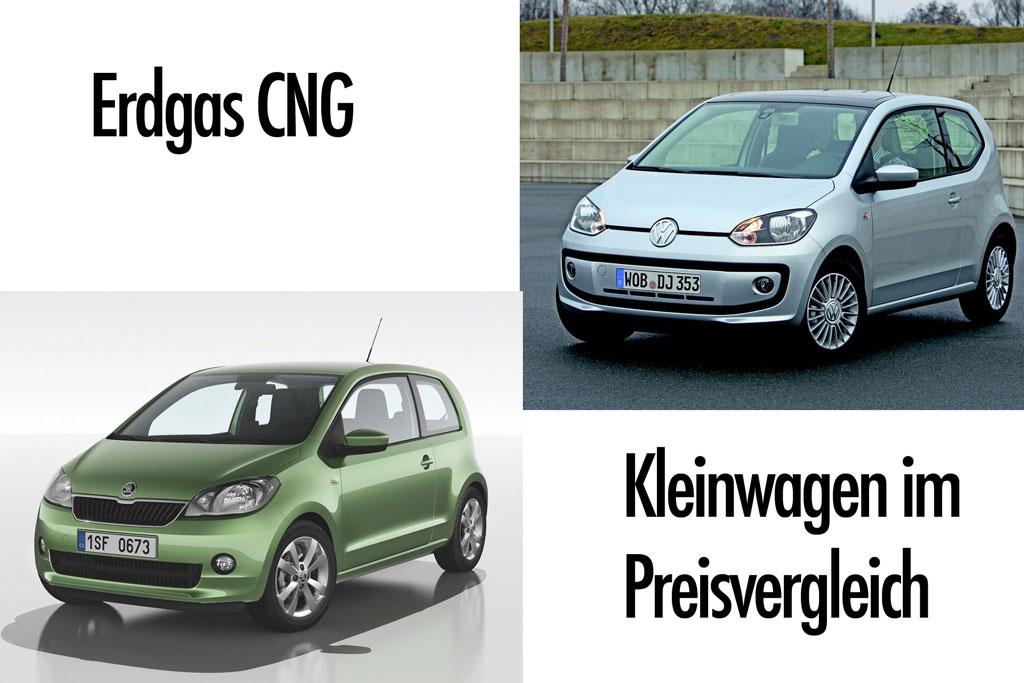 Preisvergleich: Welches Erdgasauto bietet mehr fürs Geld der VW up oder Skoda Citigo