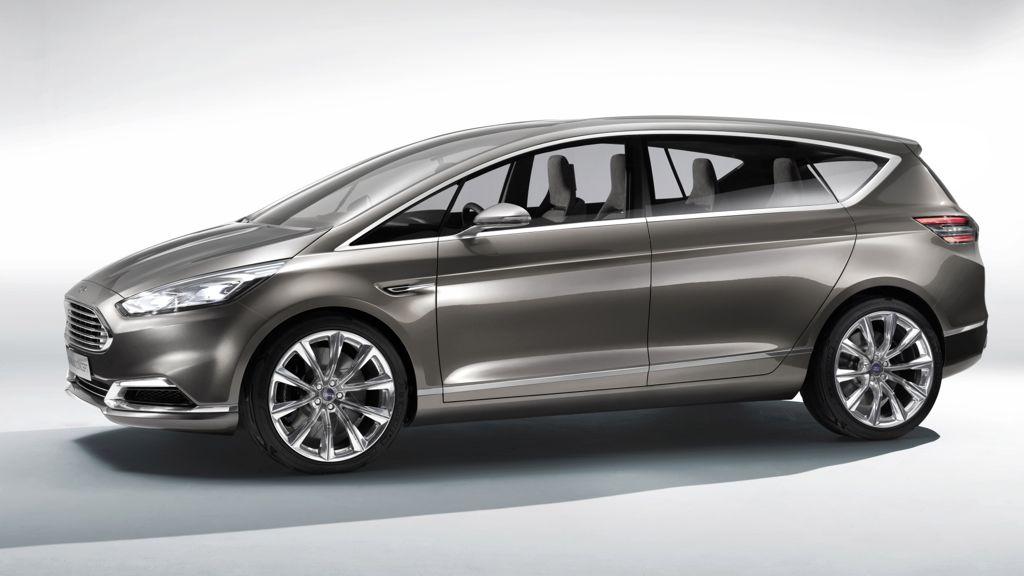 IAA 2013: Erste Bilder der Studie Ford S-Max Concept (2013)