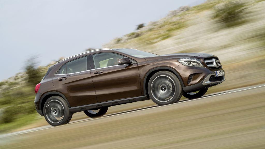 Mercedes präsentiert seinen starken SUV GLA auf IAA 2013