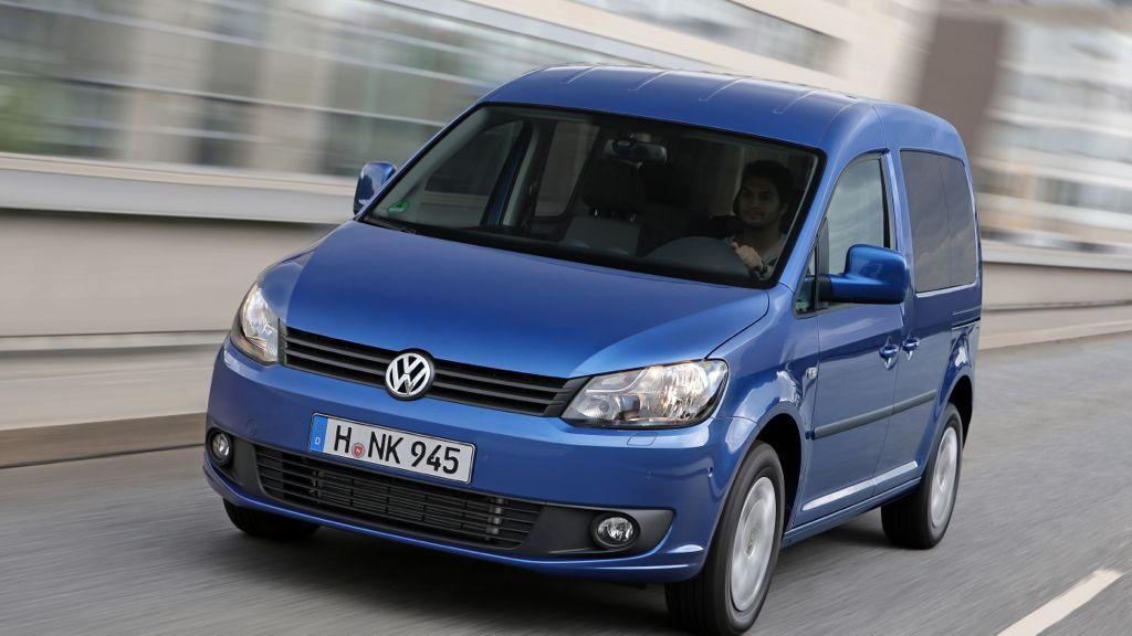 neuer vw caddy mj2014 img 2 - VW Caddy BlueMotion verbraucht nur 4,5 Liter