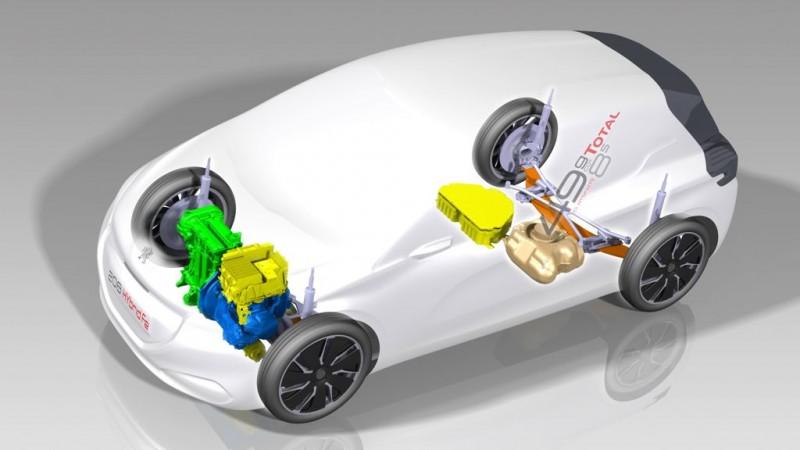IAA 2013: Peugeot stellt 208 Hybrid FE vor