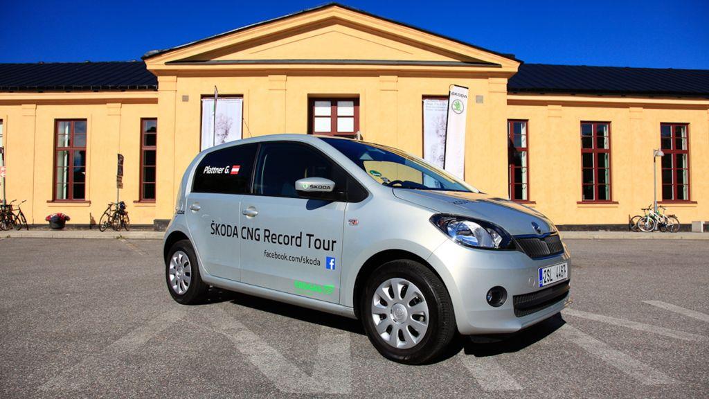 Skoda Citigo CNG - mit Erdgas umweltfreundlich und kostengünstig unterwegs