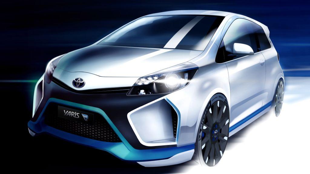 IAA 2013: Toyota zeigt die Studie Yaris Hybrid-R