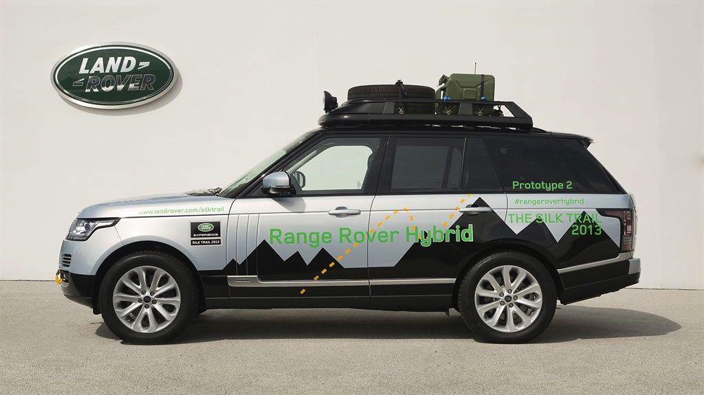 IAA 2013 Range Rover Hybrid: Erstes SUV mit Dieselhybrid kommt auf den Markt