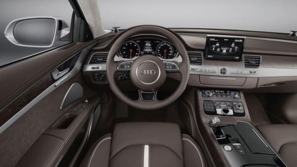 Audi A8 Innenraumansicht und Cockpit