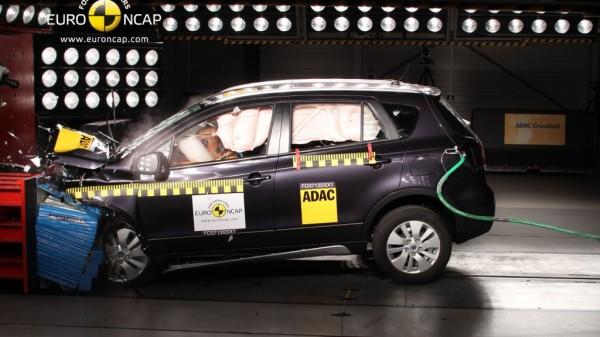 ncap crashtest suzuki sx4 mj2014 img 1 600x337 - Suzuki SX4 im Euro NCAP Test
