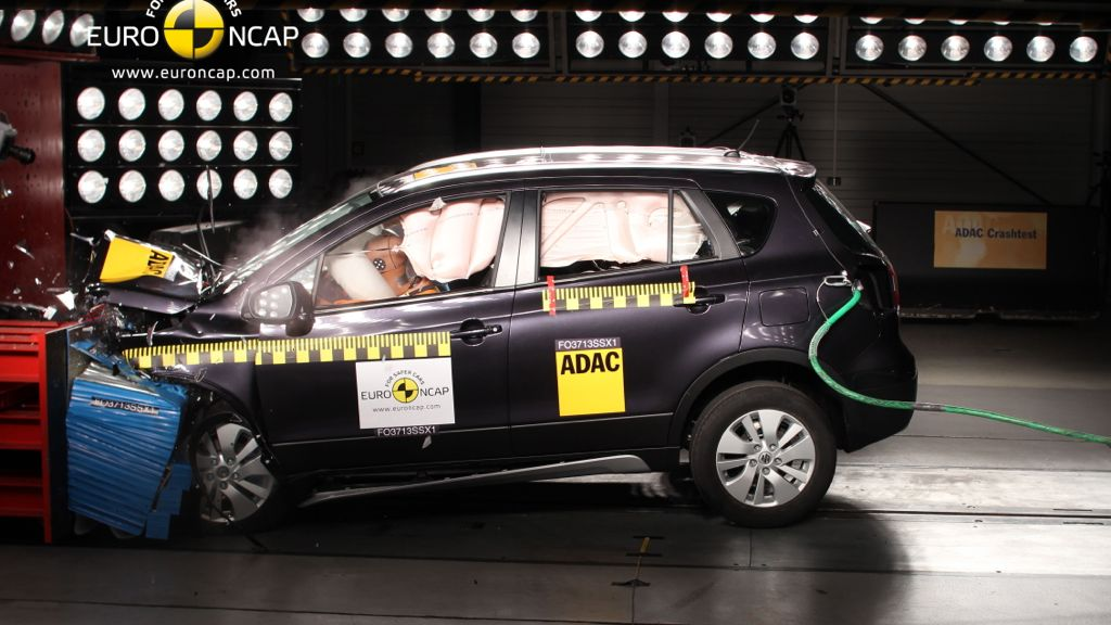 Suzuki SX4 im Euro NCAP Test