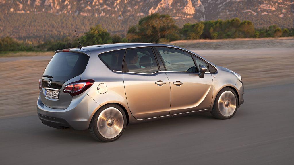 Autosalon Brüssel 2014: Neuer Opel Meriva kommt mit neuen Motoren