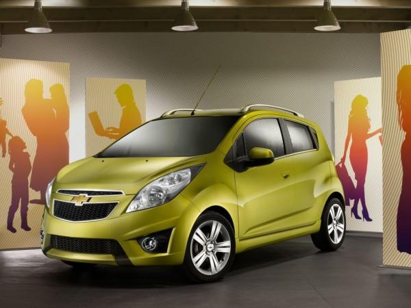 chevrolet spark img2012 img 2 600x450 - Platz 9: Chevrolet Spark 1.0 LS - ADAC Autokosten Kleinstwagen