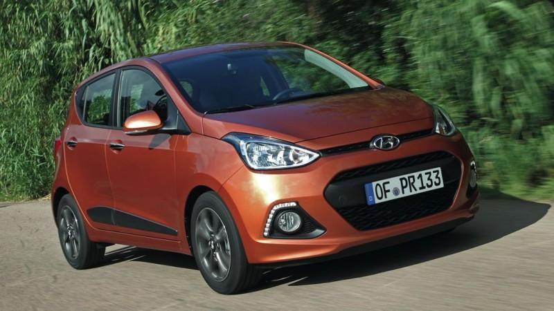 Platz 6: Hyundai i10 1.1 – ADAC Autokosten Kleinstwagen