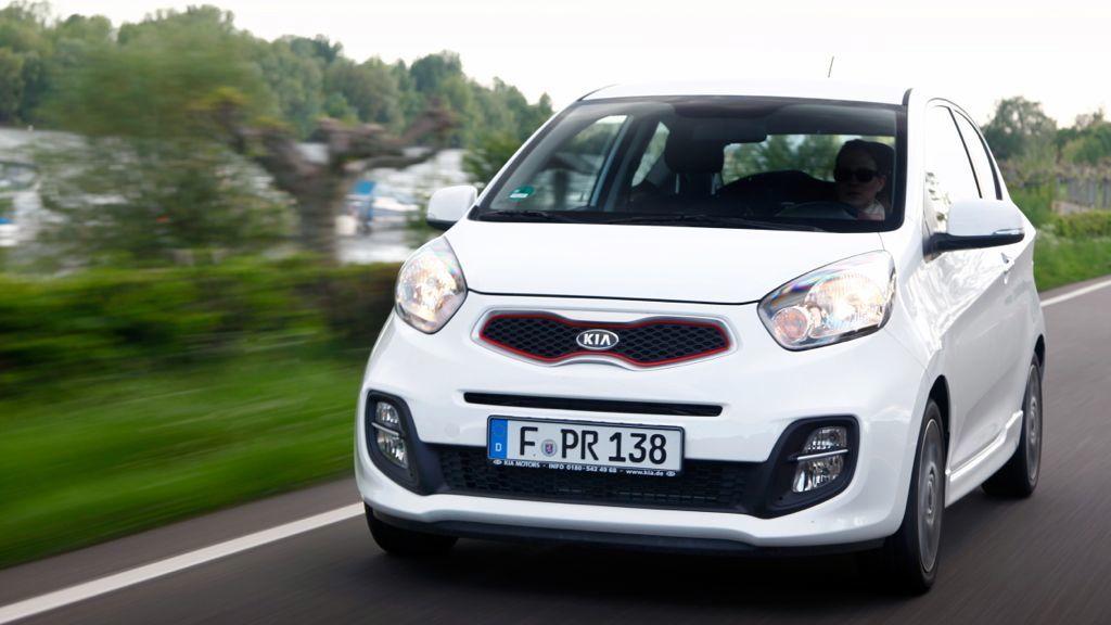 Am günstigsten fährt man in der Kleinstwagenklasse mit Erdgasautos: