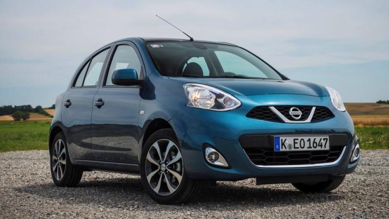 Platz 10: Nissan Micra 1.2 visia first – ADAC Autokosten Kleinwagen