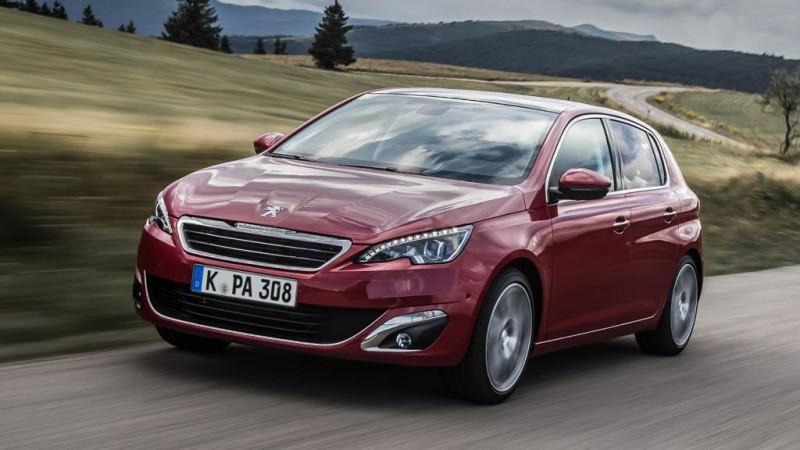 Platz 9: Peugeot 308 82 VTi Access – ADAC Autokosten untere Mittelklasse