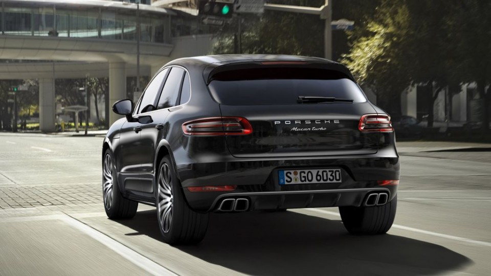Porsche Macan Turbo (2014)