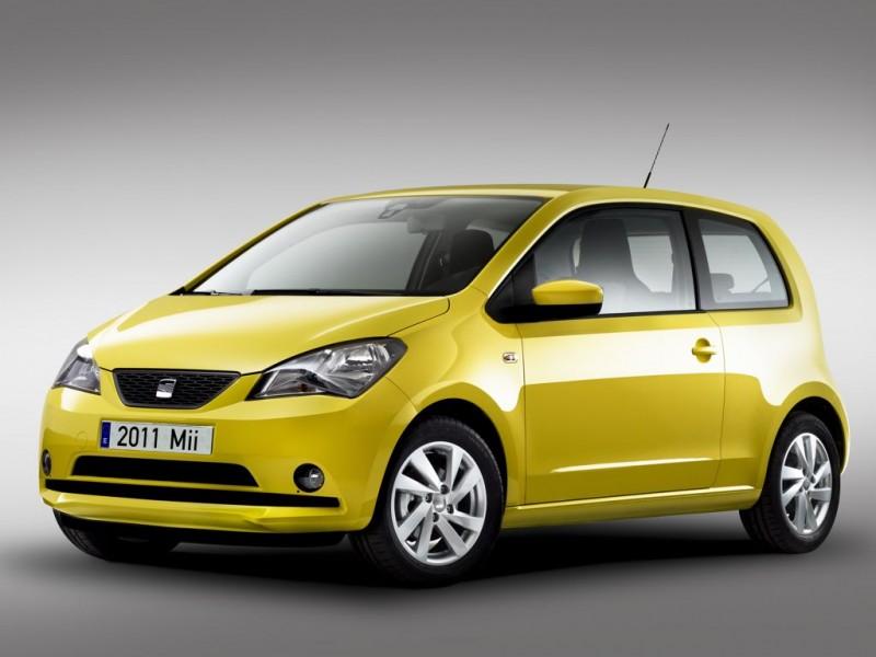 Platz 1: SEAT Mii 1.0 Ecofuel Start&St.Reference (Erdgas) – ADAC Autokosten Kleinstwagen