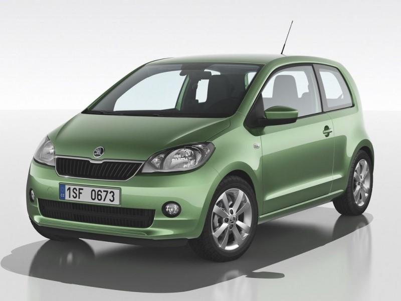 Platz 2: Skoda Citigo 1.0 CNG Green tec Elegance – ADAC Autokosten Kleinstwagen