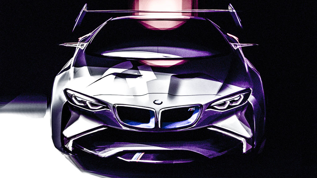 BMW KLEIN - BMW Vision Gran Turismo: Virtualität.