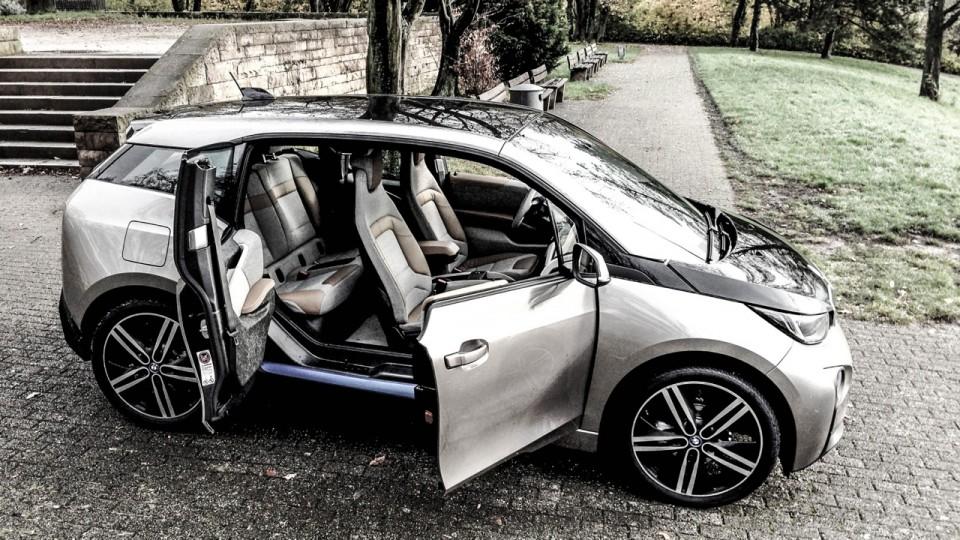 BMW i3 Portaltüren