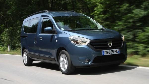 Platz 2: Dacia Dokker 1.6 MPI 85 - ADAC Autokosten untere Mittelklasse