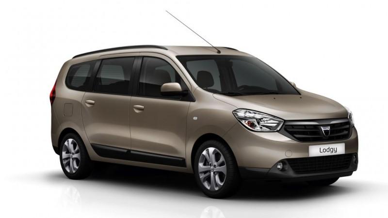 Platz 3: Dacia Lodgy 1.6 MPI 85 – ADAC Autokosten untere Mittelklasse