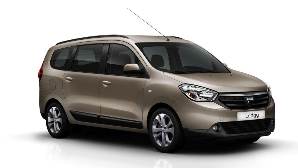 Platz 3: Dacia Lodgy 1.6 MPI 85 - ADAC Autokosten untere Mittelklasse