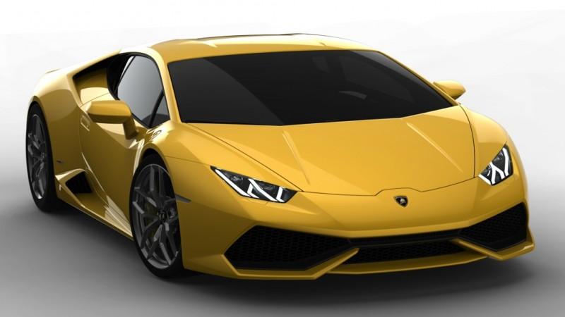 Lamborghini Huracán LP 610-4 (2014)