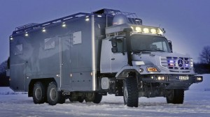 Mercedes Benz Zetros 6x6 Expeditionsmobil
