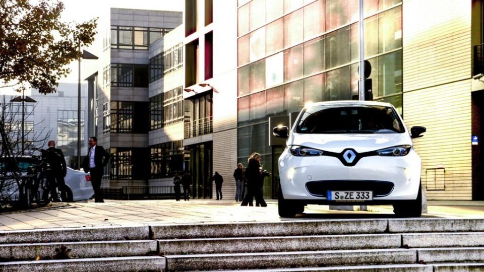Renault Zoe (2014) in Stuttgart