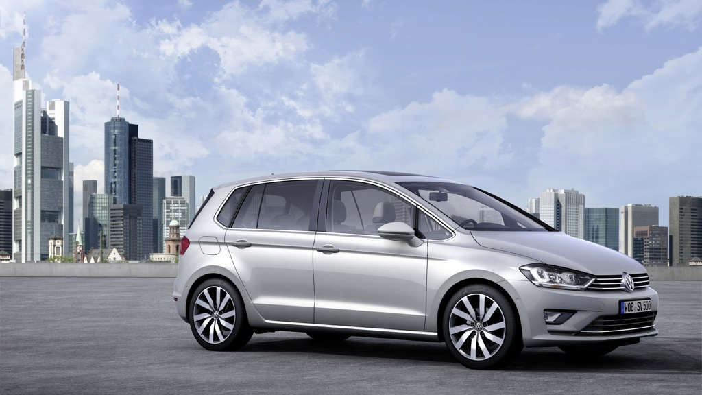 VW Golf Sportsvan 1,2l TSI BlueMotion (2014)
