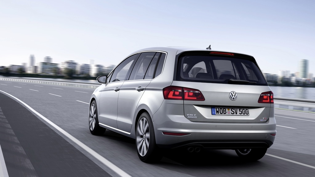 VW Golf Sportsvan 2,0 TDI BlueMotion (2014)