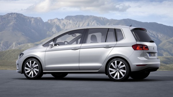VW Golf Sportsvan 1,6l TDI BlueMotion