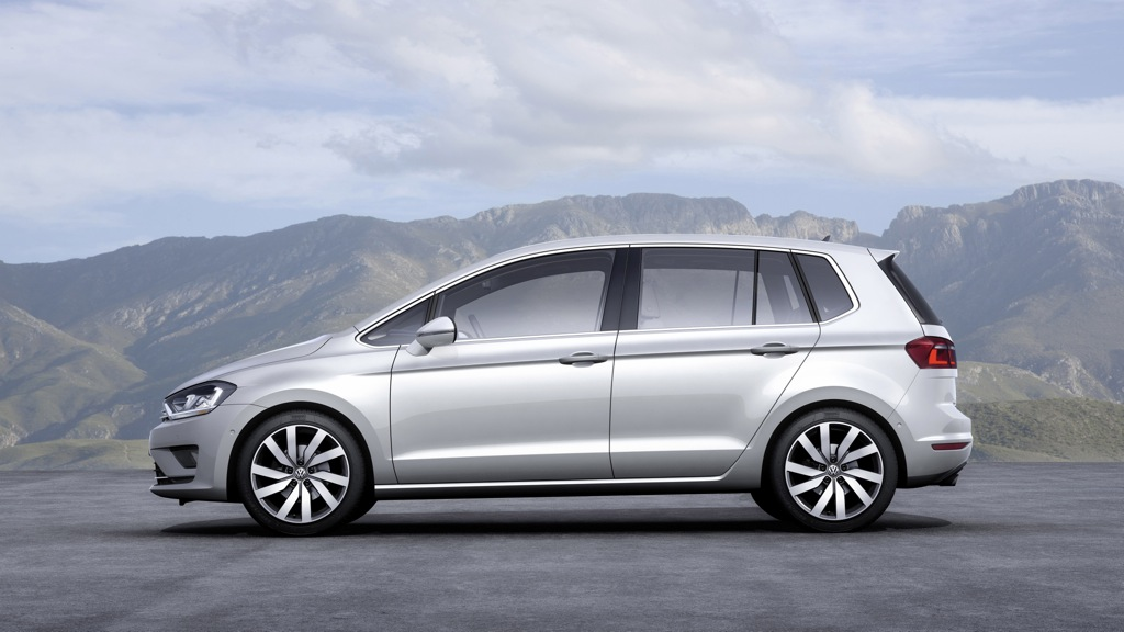 VW Golf Sportsvan 1,4l TSI BlueMotion (2014)