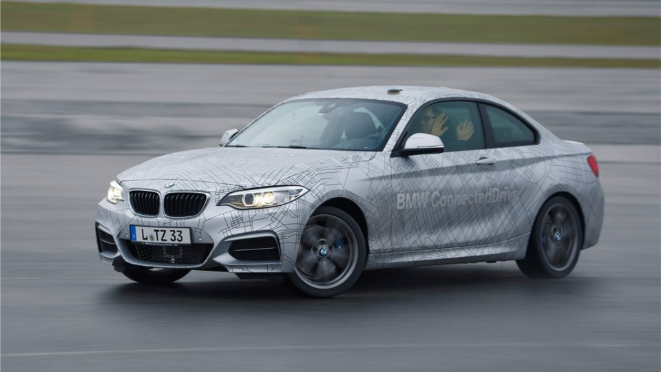 BMW 2er autonomer Drift