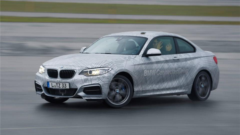 BMW 2er autonomer Drift