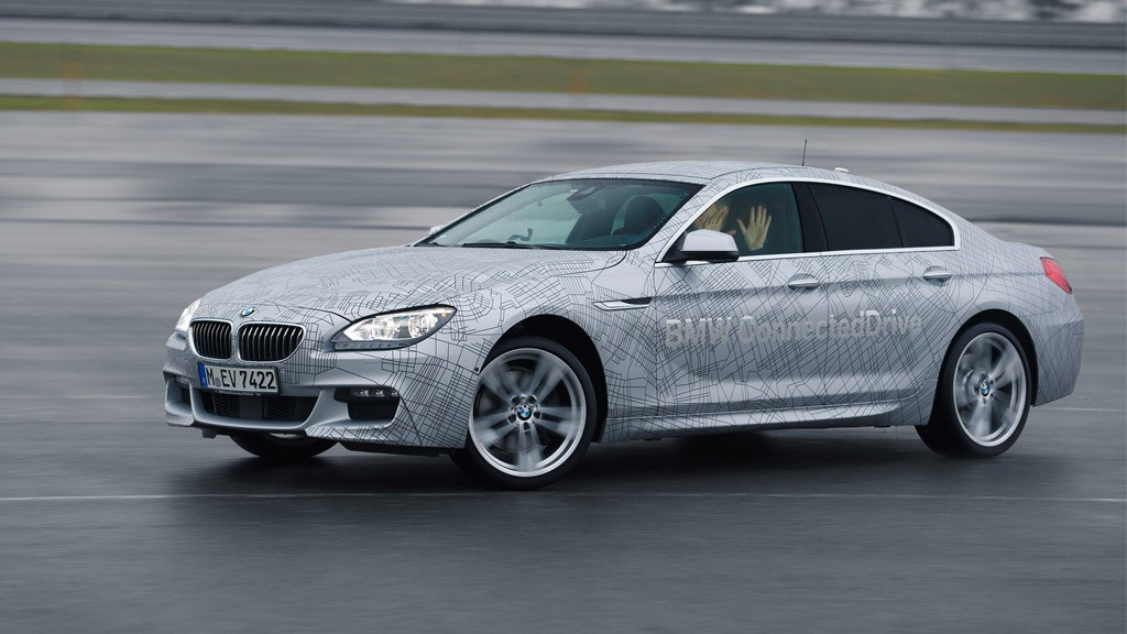 BMW 6er Autonomer Drift