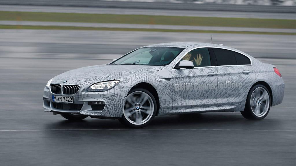 BMW 6er Autonomer Drift - BMW auf der CES in Las Vegas: Autonomes Driften