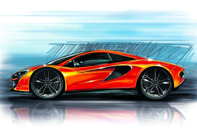 McLaren P13 Teaser fotoshowImage 862760bc 742291 - BMW auf der CES in Las Vegas: Autonomes Driften