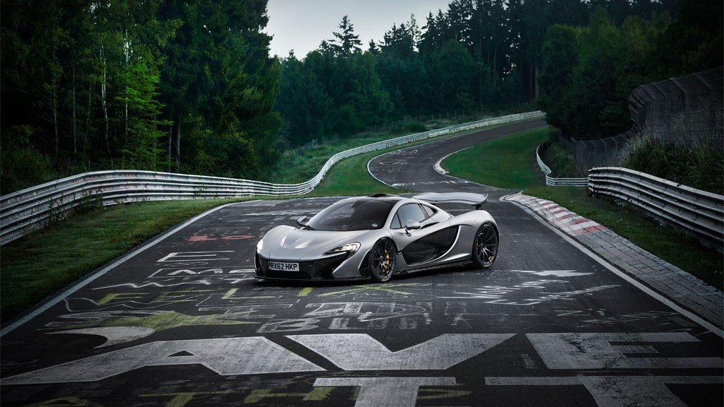 McLarenP1 Nordschleife - BMW auf der CES in Las Vegas: Autonomes Driften