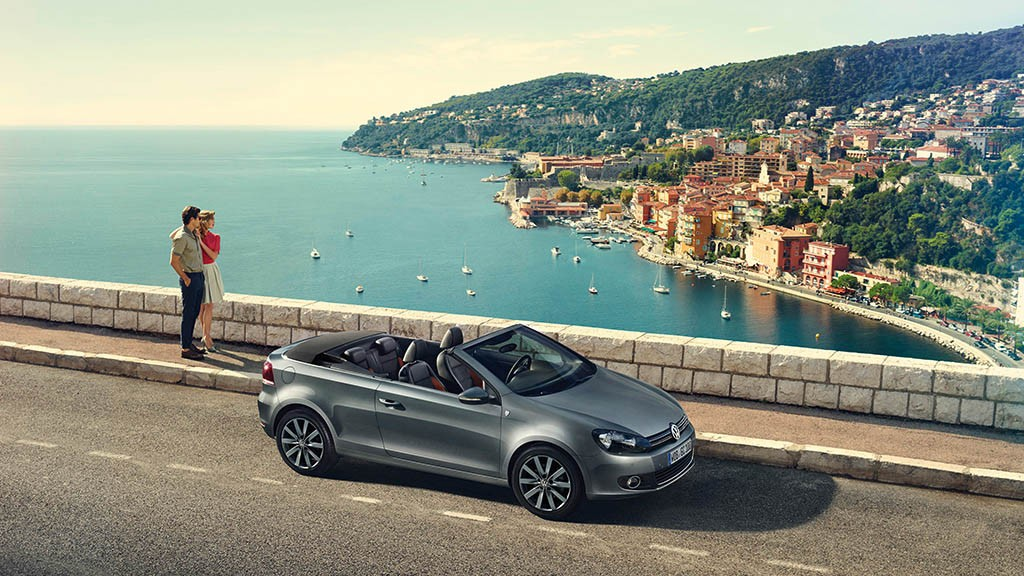 VW Golf Cabrio Karmann Aussicht - Ford Fiesta ST (2014)