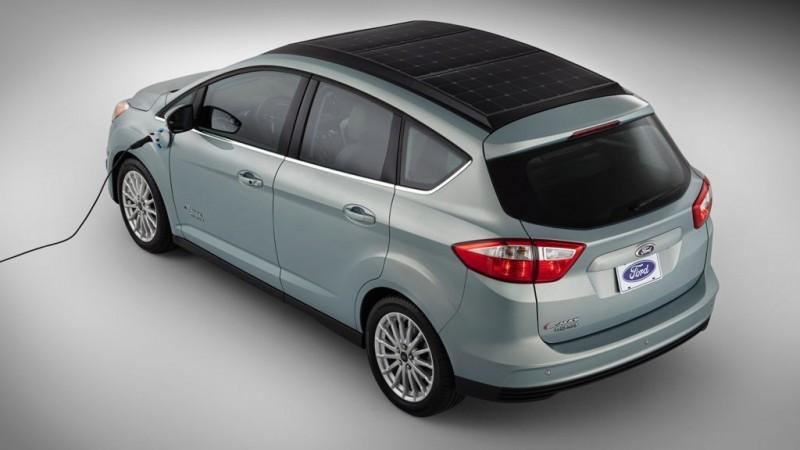 CES 2014: Ford C-Max Solar Energi Concept – das wirklich emissionsfreie Aufladen eines Elektroautos