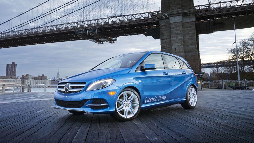 Mercedes-Benz B-Klasse ed: Markteinführung für 2014 geplant