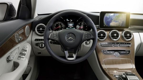 Innenraum der neuen Mercedes C Klasse