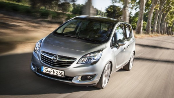 opel meriva b facelift mj2014 600x337 - Neuer Opel Meriva: Diese Motoren gibt es für das Facelift ab Januar