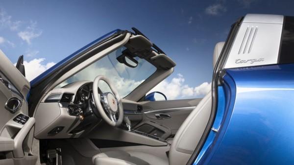 porsche 911 targa 4 mj2014 img 5 600x337 - NAIAS 2014: Porsche zeigt neuen 911 Targa 4 und Cayenne Platinum Edition
