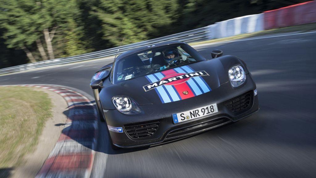 Porsche 918 Spyder Nürbrugring: Rekordfahrt mit 6:57 min auf der Nordschleife