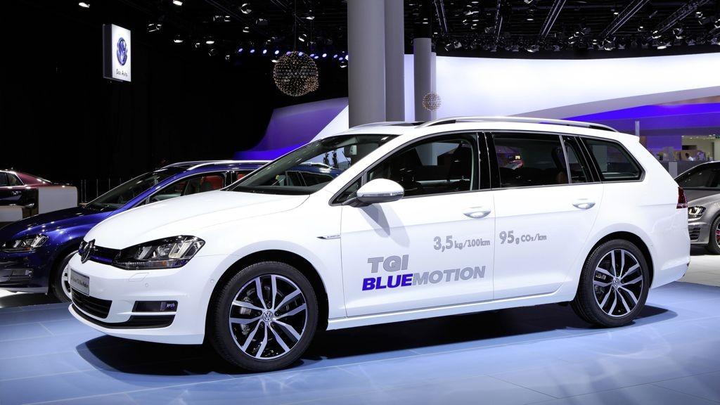 VW Golf Variant TGI BlueMotion: 24.400 Euro kostet das neue Erdgasauto ab Werk