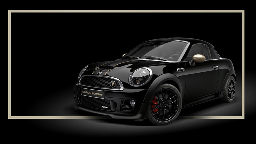 Mini John Cooper Works Coupe Playboy Edition - Mini John Cooper Works Coupé Edition Playboy: Einzigartig Unartig