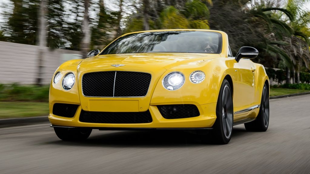 Bentley Continental GT V8 S Cabrio (2014)